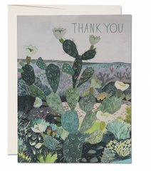 Desert Landscape Thank You Card