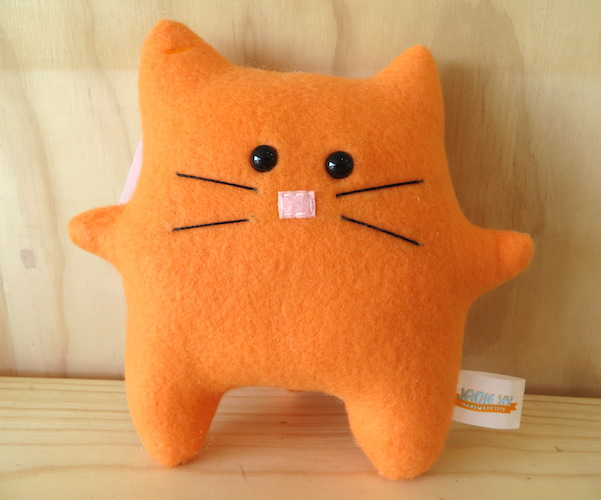Plush Cat - Orange