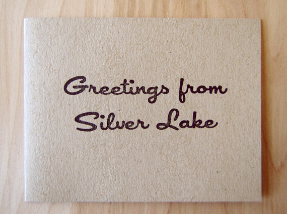 Ink and Smog Greetings from Silver Lake Card Set of 4
