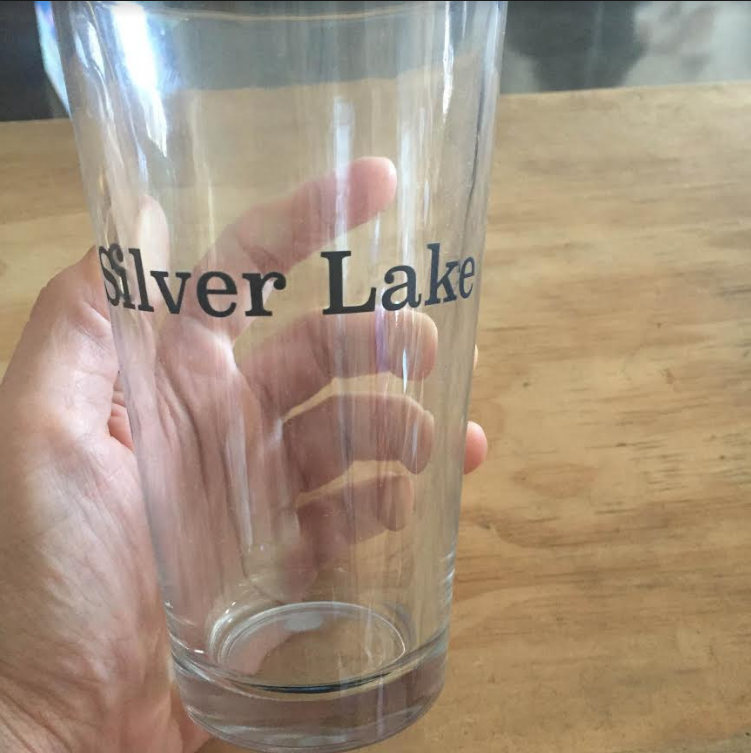 Silver Lake Pint Glass