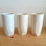 Faceted Tumblers in Pastel