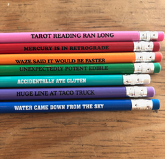 Why I'm Late Pencil Set of 7