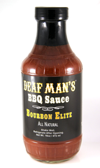 Deaf Man's Bourbon Elite BBQ Sauce