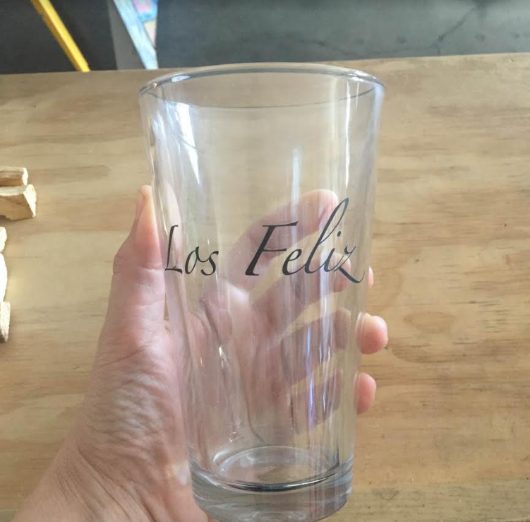 Los Feliz Pint Glass