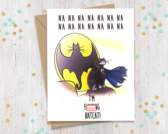 BATCAT! Card