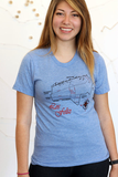 Los Feliz Map Tee Shirt