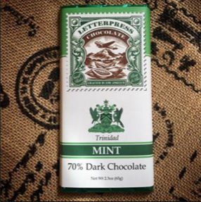 Mint Dark Chocolate Bar