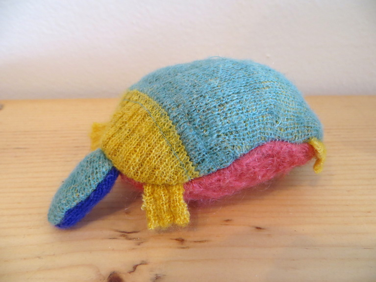 Recycled Sweater Turtle