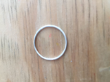 Delicate Small Sterling Silver Ring