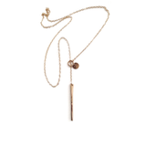 Gold Fill Lariat Necklace