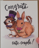 Woodland Wedding Card