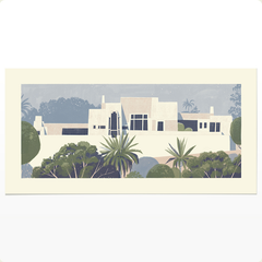 Print of the Ennis House by Chris Turnham