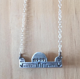Griffith Observatory Necklace Sterling Silver