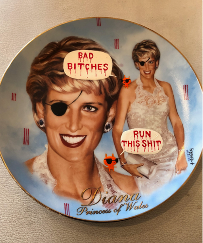 Bad Bitches Plate