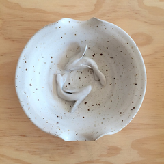 Soap Dish with Coy Fish