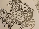 This Won't Help: The Anxiety Inducing Coloring Book