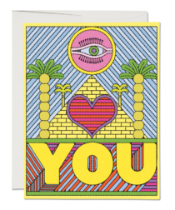 Eye Heart You Love Card