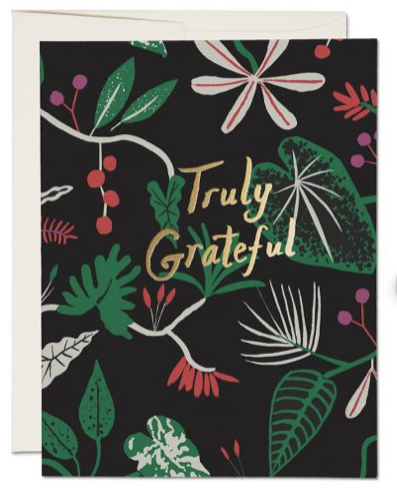Truly Grateful Thank You Card