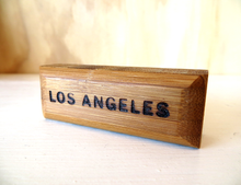 Load image into Gallery viewer, Bamboo Los Angeles Souvenir Magnet