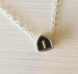 Sterling Silver Route 1 Necklace by L. Makai
