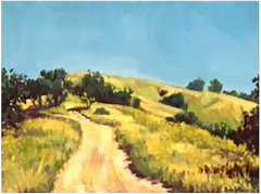 Elephant Hill Oil Painting