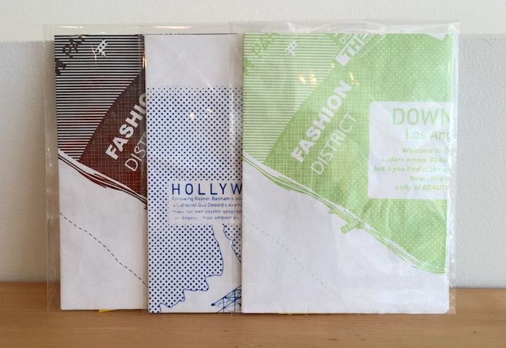 Reuseable Gift Wrap of L.A. Maps