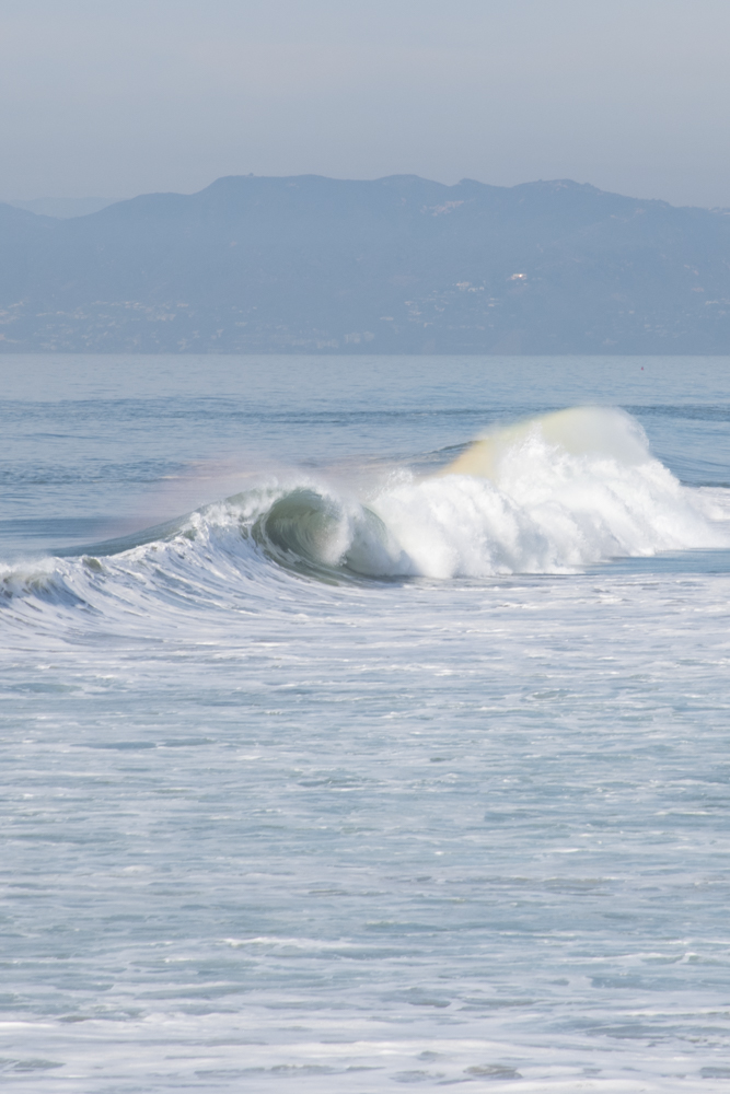 Rainbow Wave #4 5x7 matted photo
