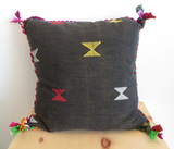 Haus and Home Pillow with African Fabric
