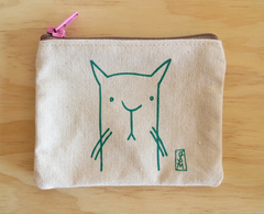 LA Cat Coin Pouch