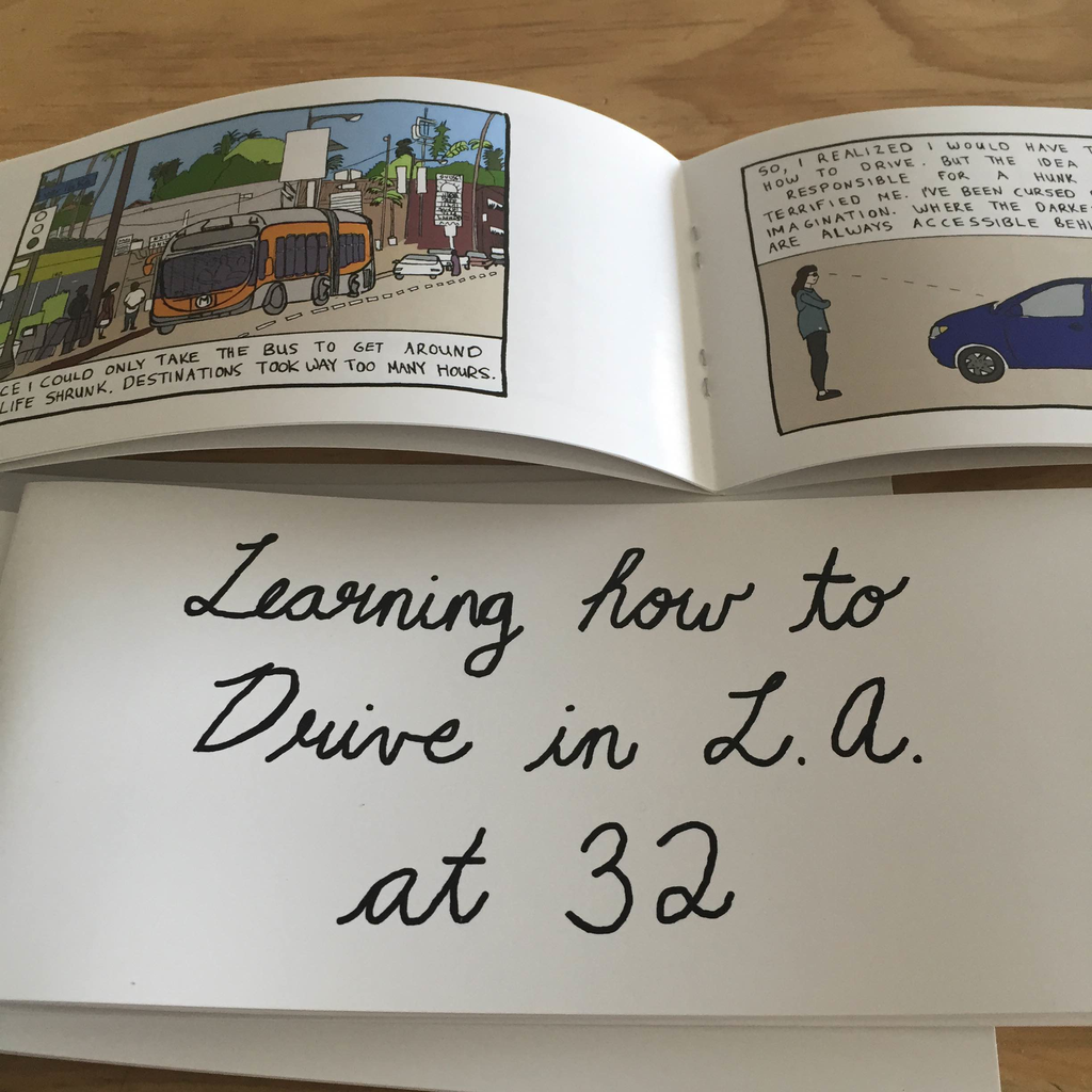 Learning how to drive in L.A. at 32 Zine