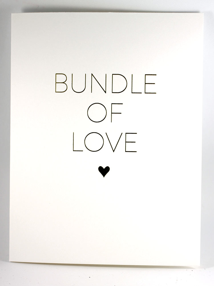 Bundle of Love Card