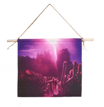 Load image into Gallery viewer, 'Big Sur Sunshine' Canvas Wall Hanging