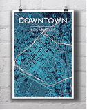 Downtown Los Angeles GIS Map