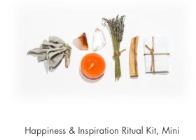 Happiness & Inspiration Ritual Kit, Mini
