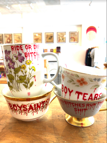 Ride or Die Bitch Teacup