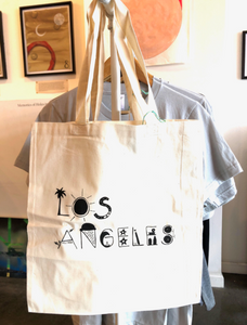 LA Screen Printed Tote Bag