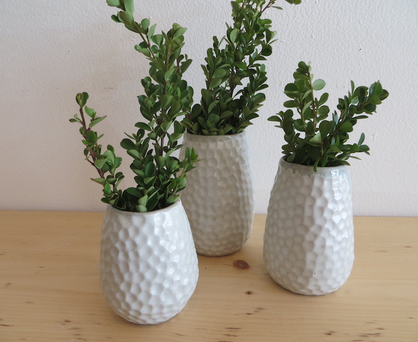 Trio of Ceramic Vases