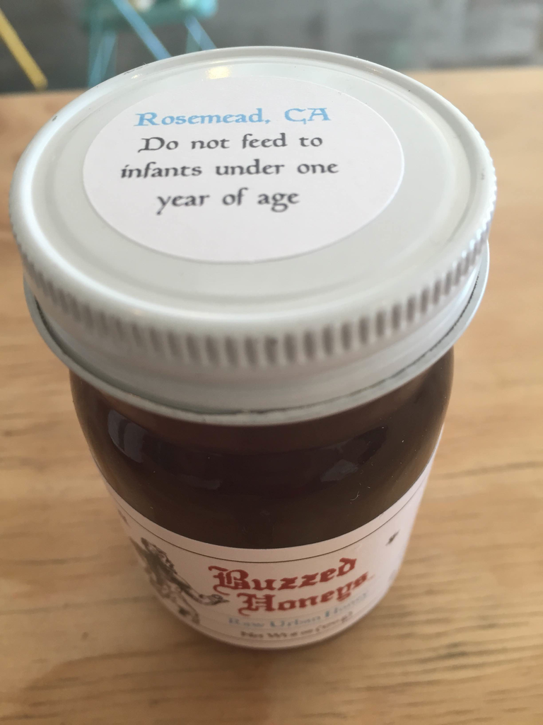 Raw Urban Honey from Rosemead
