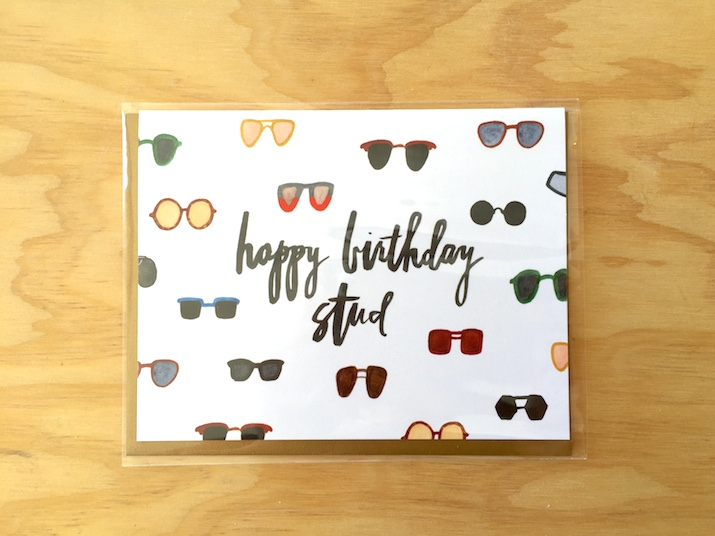 Birthday Stud Card