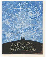 Astrology Birthday Card