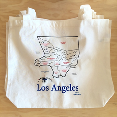 Map Tote - Los Angeles