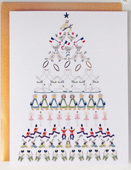12 Days Tree Holiday Single Card