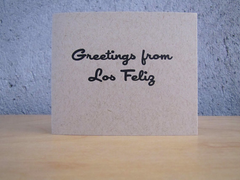 Ink and Smog Greetings from Los Feliz Card Set of 4