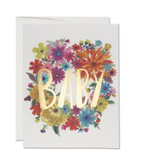 BABY WREATH Card