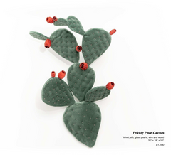 Prickly Pear Cactus Sculpture