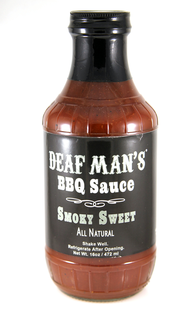 Deaf Man's BBQ Sauce Smoky Sweet