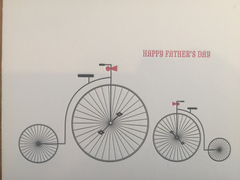 Bicycle Father's Day Card
