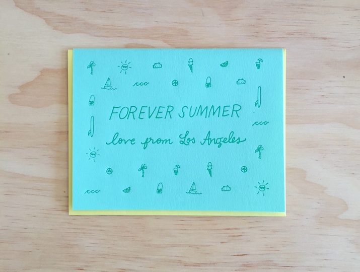Forever Summer Love From Los Angeles
