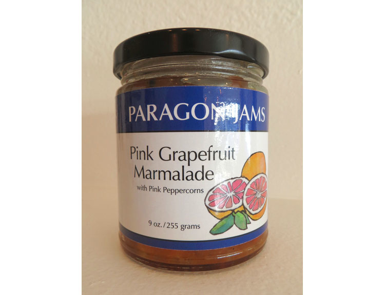 Paragon Pink Grapefruit Peppercorn Jam
