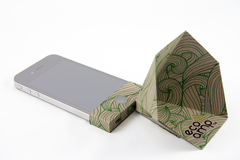Paper iPhone  Amp - Green Waves